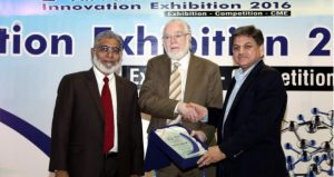 DUHS bestowed 'Father of Innovation' title to Dr. Khurshid Qureshi