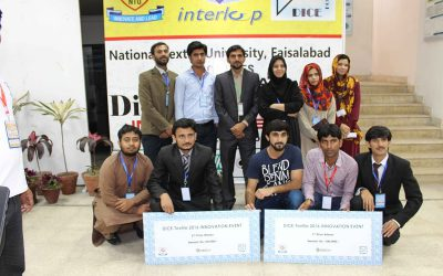 1st All Pakistan DICE Textile Innovation Event 2016 at NTU