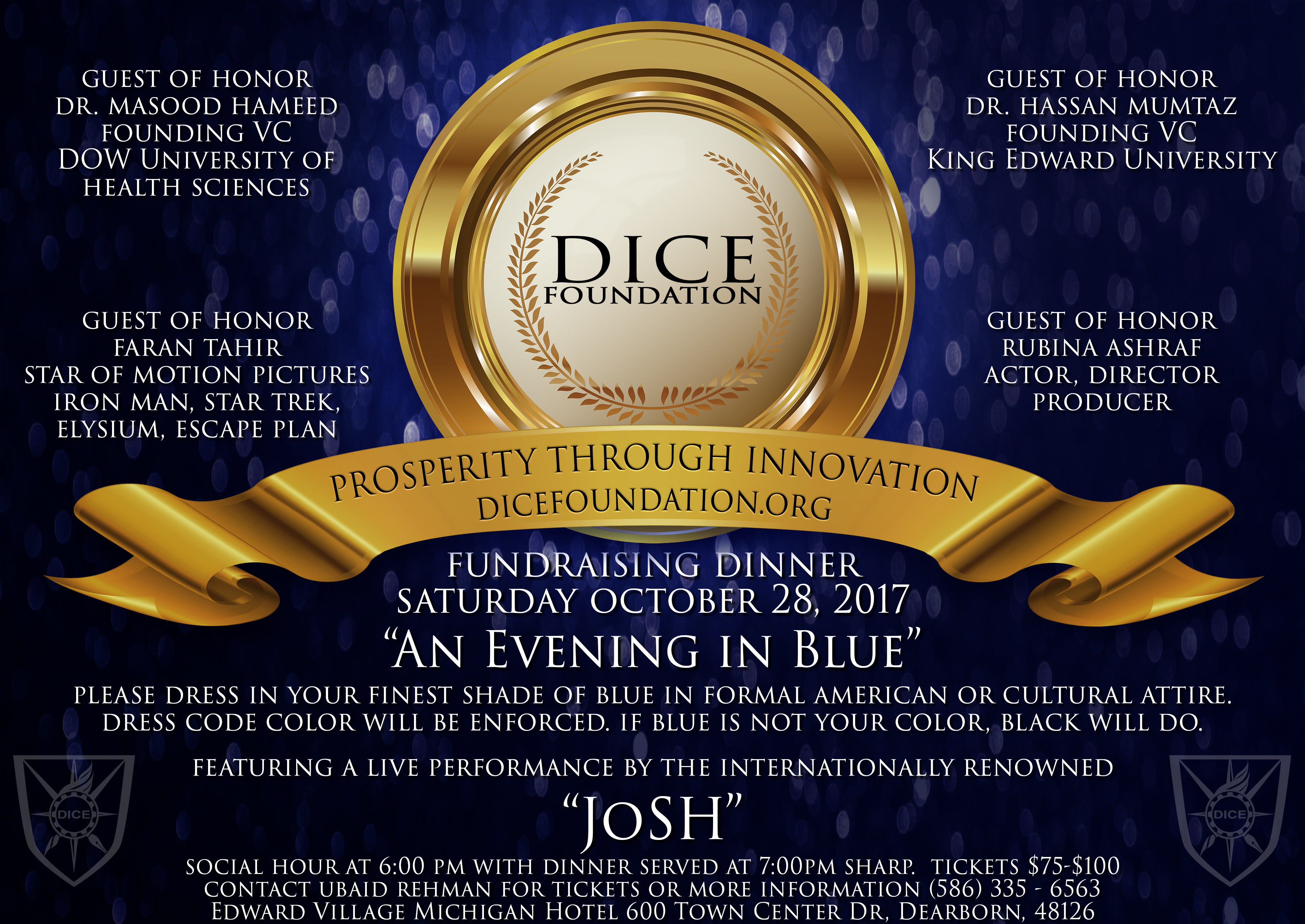 Dice Foundation Annual Fundraising And Banquet On Oct 28 2017 In