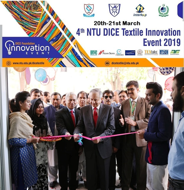 Mr. Razak Dawood inaugurates 4th NTU-DICE Textile Annual Innovation Event