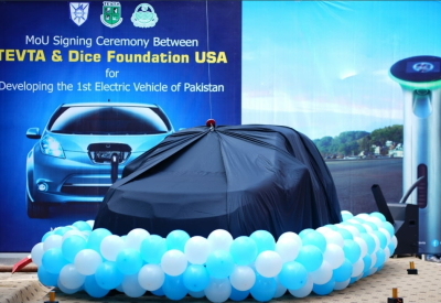 DICE & TEVTA Collaborate for Pakistan's 1st Indigeneous Electric Vehicle